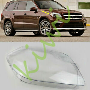 For Mercedes-Benz W166 GL-Series 2012-16 Right Side Headlight Clear Cover + Glue