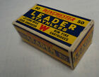 Vintage EMPTY 22 AMMO BOX WINCHESTER LEADER Long Rifle K2388R MINT Condition