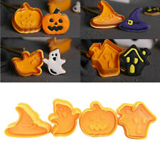 4pcs/set Halloween B iscuit Cookie Cutters B iscuit Mold Cake Decorating Tool