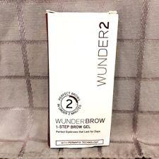 Wunder2 Wunderbrow Perfect Eyebrows Extra Long Lasting Gel PermaFix Black Brown