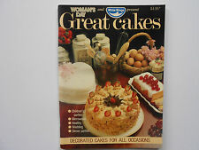 WOMAN'S DAY GREAT CAKES - DECORATED CAKES FOR ALL OCCASIONS - LIKE NEW