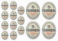 Guinness - 15 Stück Vinyl-Aufkleber - 15 Pieces Vinyl Stickers - #Gu01