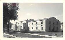 RPPC Postcard Western State Colorado University Ol Roy Hall Gunnison CO