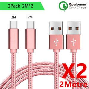 Cable chargeur Micro USB pour Samsung Galaxy S5 S6 S7 edge J4/J5/J6 A3/A5 A10