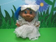 "Monkey Face Bride - 4"" Unmarked Troll - New - Very Rare - Last 1'S In This Color"