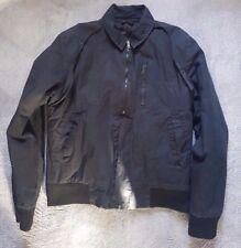 PROVIDER Men's black casual bomber harrington jacket Size L
