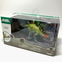Tomy ANIA Japan STEGOSAURUS T16049 Dinosaur Toy Figure NEW BOX RARE Jurassic JP