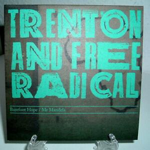 TRENTON AND FREE RADICAL- 2 Track, Promo CD Single (Barefoot Hope + Mr.Mandala)