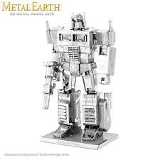 Fascinations Metal Earth Optimus Prime Transformers Laser Cut 3D Model