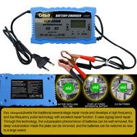 Batterie Ladegerät 12V 24V 10A Batterielader Motorrad KFZ Auto 200 Ah  Auto-Stop