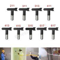 Black Airless Spray Gun Tips 211/311/313/411/413/415/515 For Paint Sprayer 🔥 C