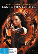 The Hunger Games - Catching Fire (DVD, 2014) NEW R4