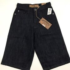 SOUTH POLE Men's Long Shorts Denim Size 29 Dark Wash New with Tags