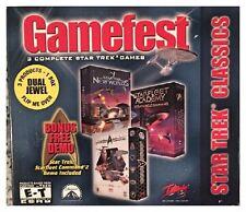 Gamefest: Star Trek Classics Dual Jewel PC Brand New Sealed - Free U.S. Shipping