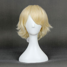 Ouran High School Host Club Mitsukuni Haninotsuka Short Yellow Blonde Anime Wig