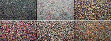 3000 Glass Seed Beads Size 11/0 2mm Mixed Colours 50g For Jewellery BUY 4 FOR 3