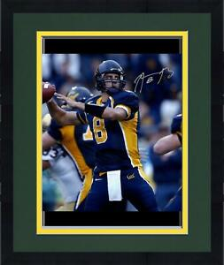 Framed Aaron Rodgers University of California 16x20 Throwing Photograph
