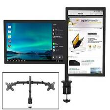 TV monitor double arm bracket adjustable 13-27 inches Computer Monitor Stand UK
