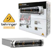 Behringer NU12000 iNUKE DJ/Club Amp 12,000 Watt Lightweight Power Amplifier 120V