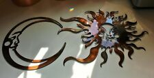 Sun & Moon Combo Set Metal Wall Art large set
