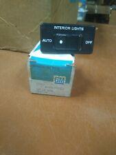 NOS 1985-1991 CHEVY/GMC  G VAN DOME LAMP DASH CONTROL SWITCH 15599022