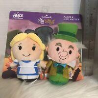 Disney Alice in Wonderland and Mad Hatter Hallmark itty bitty  Tea Party