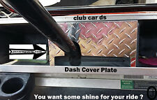 Club Car Ds Golf Cart highly polished Diamond Plate Dash Cover