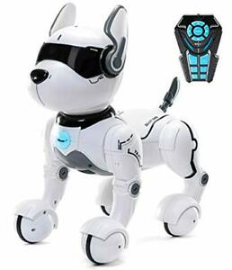 Top Race Remote Control Robot Dog Toy, Interactive & Smart Dancing to Beats