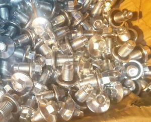 FORD ZETEC Engine MAZDA VOLVO JAGUAR 50 Sump Plugs & Washers 1013938 X 100