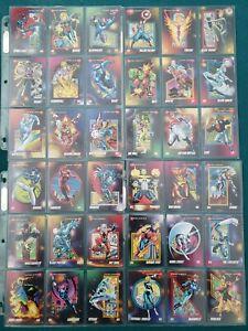 Marvel trading cards 1992 complete set