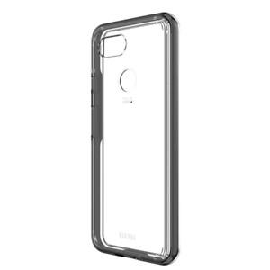 EFM Aspen D3O Case Armour suits Google Pixel 3 XL - Clear/Black