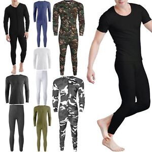 NEW MENS AND KIDS THERMALS FULL SETS UNDER WEAR SIE LONG SLEEVES TOPS LONG JOHNS