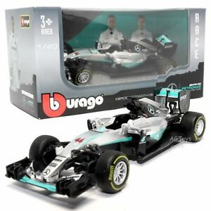 Mercedes F1 W07 Hybrid Lewis Hamilton #44 2016 Formula 1 Model Toy Car 1:43 Scal