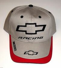 c3fc956f8a0 NEW OFFICIALLY LICENSED EMBROIDERED CHEVY CHEVROLET RACING3 TONE NASCAR HAT  CAP