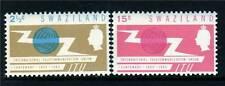 Swaziland 1965 I.T.U.Centenary SG 113/4 MNH