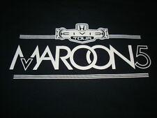 Maroon 5 Civic Tour Local Crew T-shirt Size XL