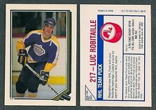 1987-88 O-Pee-Chee Luc Robitaille Rookie Sticker
