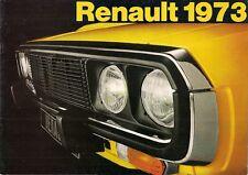 Renault 1972-73 UK Market Sales Brochure 4 5 6 12 16 15 17