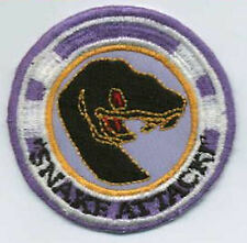 Babylon 5 Embroidered Squadron Patch - Snake Attack