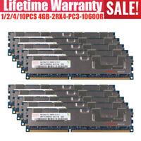 64GB 32GB 16GB 8GB 4GB DDR3 PC3-10600R 2RX4 REG ECC Server Memory For Hynix LOT