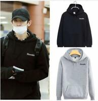 Kpop EXO Chanyeol Airport Fashion Cap Hoodie Sweater Unisex Coat Sweatershirt