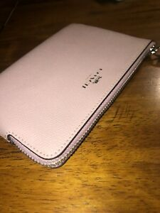 NWT Coach Small Pink Wristlet