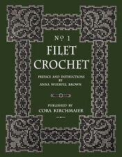 Cora Kirchmaier #1 c.1912 - The New Filet Crochet Book of Charted Patterns