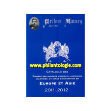 "Catalogue Maury ""Europe-Asie"" 2011-2012."