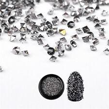 1000Pcs 3D Nail Art Micro Crystal Rhinestones Glitter Diamond DIY Decoration