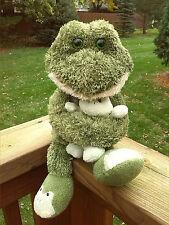Animal Adventure Plush Frog Mom Dad Holding Baby Green Slippers Stuffed Boy Girl