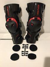 EVS WEB Pro Knee Brace Guard Carbon Fiber Medium M Pair ✅