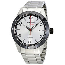 Montblanc Timewalker Silver Dial Automatic Mens Watch 116057