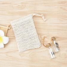 durablel sisal soap saver pouches soap saver bag bath shower soap mesh bag LC