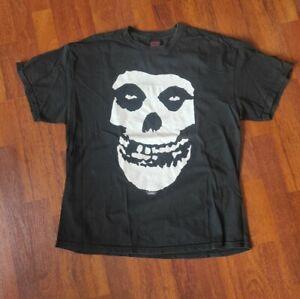 Original The MISFITS Shirt Gr XL Classic Skull Logo OFFICIALMERCH Horrorpunk